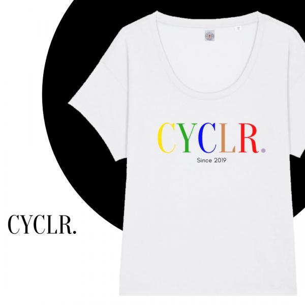 Ladie´s Roundneck Shirt CYCR. Mod. 9